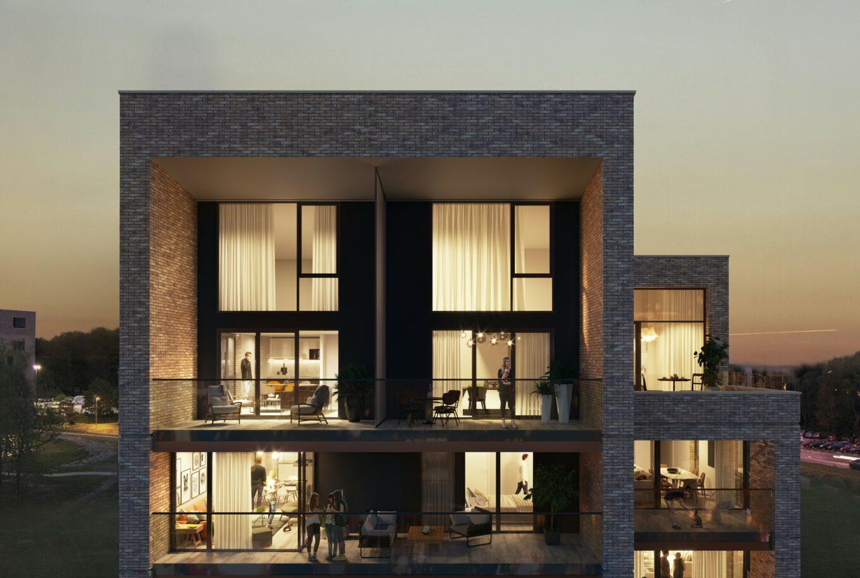 Kapertoren duplex penthouse tekoop hasselt