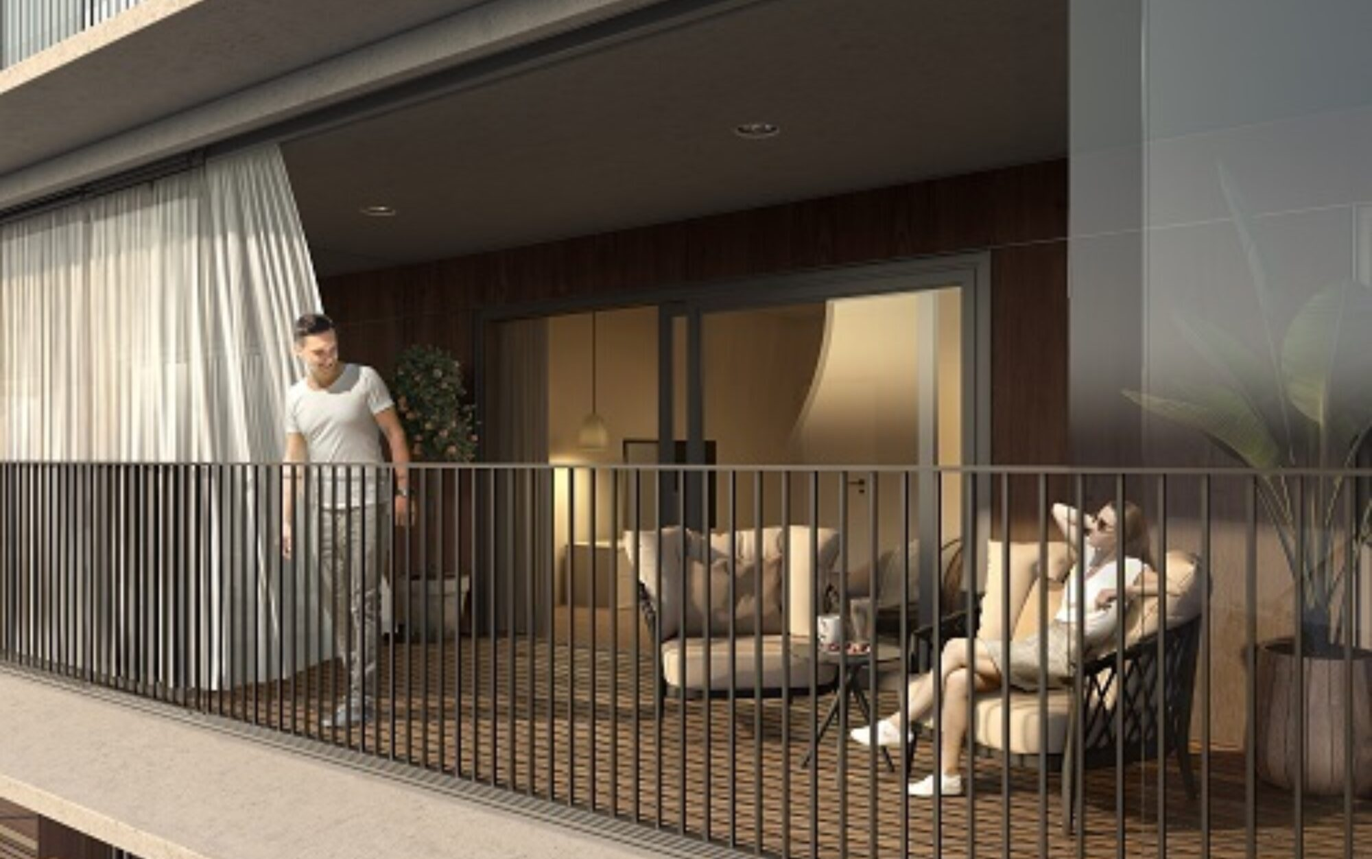 Kolmont Refuga urban villa appartement te koop Hasselt wintertuin