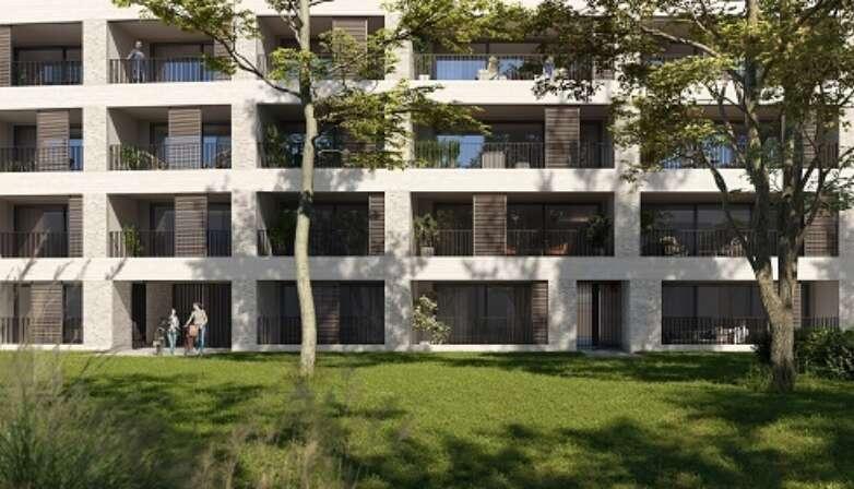 Kolmont Refuga stadsappartement te koop Hasselt tuin2